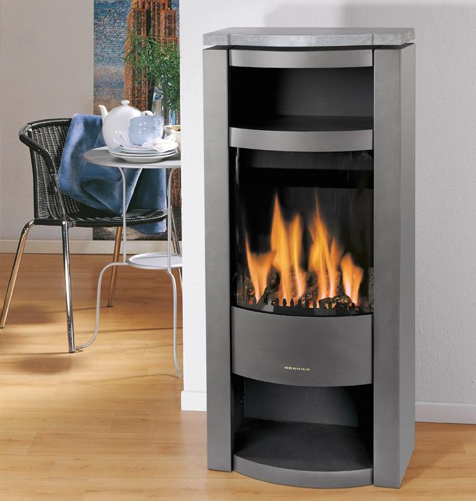gaskamin fen f r dein zuhause atmosph re auf knopfdruck oranier. Black Bedroom Furniture Sets. Home Design Ideas