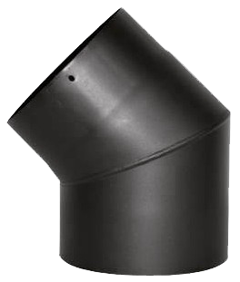Pipe bend 45° Steel back