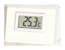 Remote temperature display Remote temperature display
