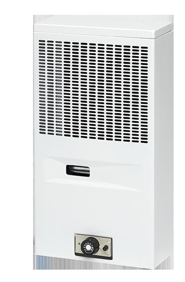 Gasheizautomat 39-26 Werra (2,0 kW) mit reversiblem Anschluss Erdgas, Weiß