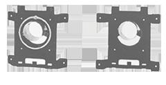 Übergangsplatte Übergangsplatte Durchmesser Ø 180 mm