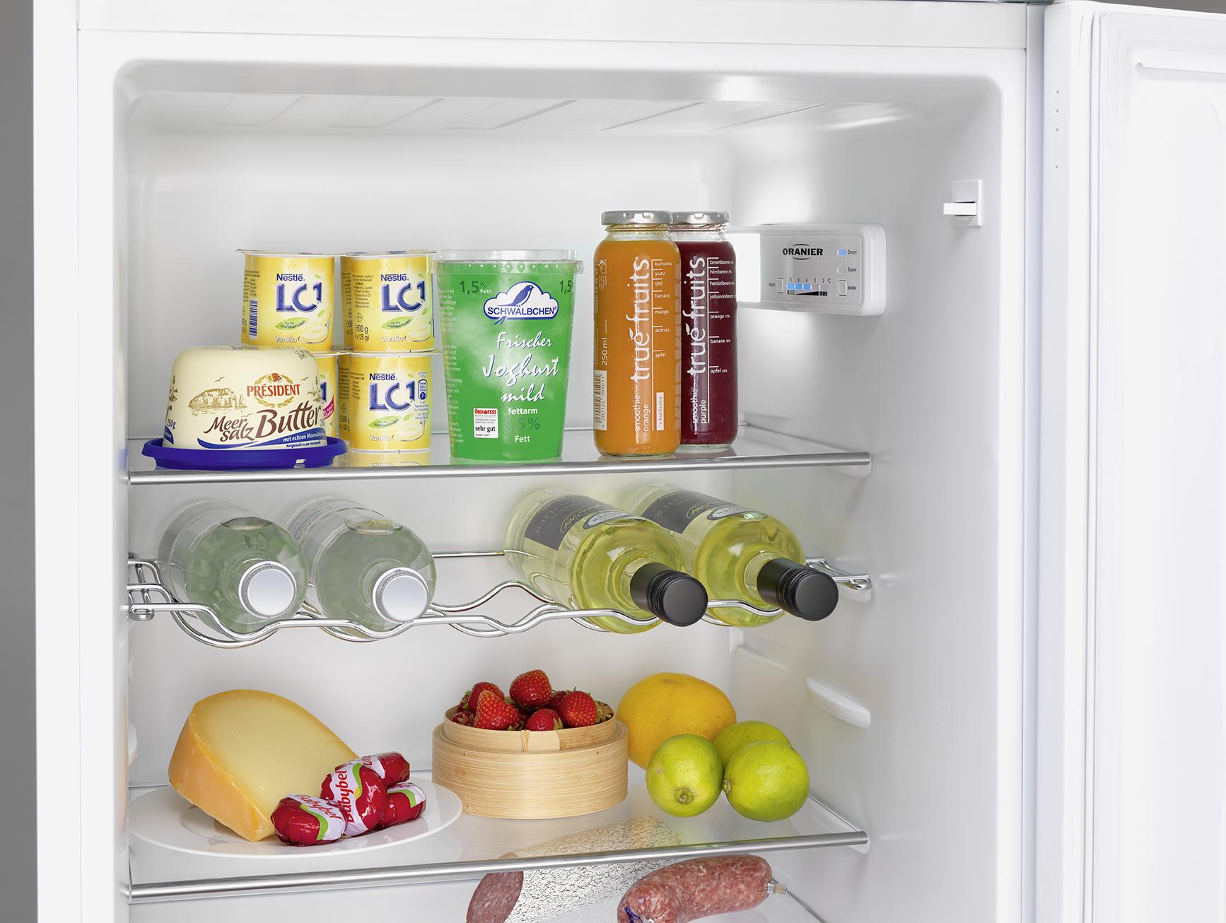 Kühlschrank Mit Gefrierfach Klein : Kühlschrank mit gefrierfach eks oranier