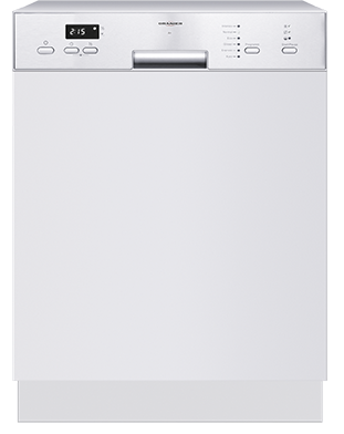 Semi integrated dishwasher GAB 7576 GAB 7576