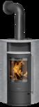 Wood stove Polar Neo Eck Soapstone, corpus steel black