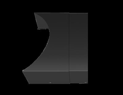 AquaCover Teleskopabdeckung für Pori Aqua Stahl Schwarz