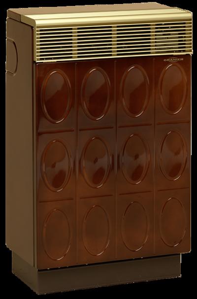 Gasheizautomat 8941-40 Palma Relief (4,7 kW) Majolikbraun Erdgas