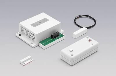 Einbau-Reedkontaktschalter Funk mit Lichtfunktion – DIBt-Zulassung Einbau-Reedkontaktschalter Funk