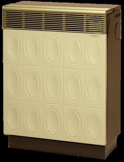 Gasheizautomat 8941-60 Palma Relief (7,0 kW) Beige / Braun Erdgas