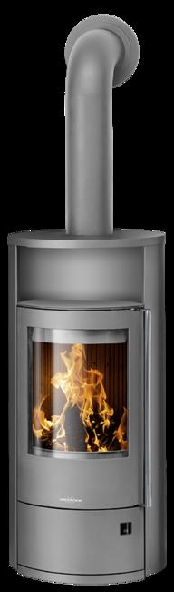 Wood stove Polar Neo 4 Steel grey