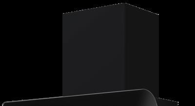 Schwarzer Schacht pureBLACK für Signa S