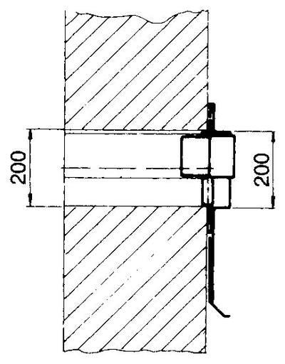 Transition plate Übergangsplatte Durchmesser Ø 180 mm