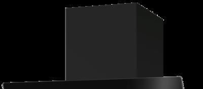 Schwarzer Schacht pureBLACK für Vivio