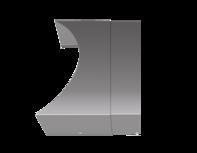 AquaCover Teleskopabdeckung für Pori Aqua Stahl Gussgrau