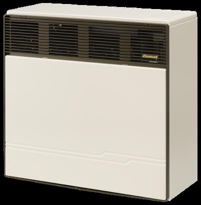 Gas heater RGA 35-373 II Gamat (3,3 kW) Erdgas, Hellelfenbein