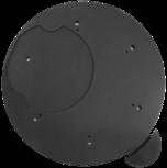 Dreh-Tableau, Ø 510 mm, schwarz