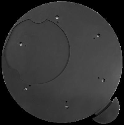 Dreh-Tableau mit Arretierung Ø 460 mm Dreh-Tableau, Ø 460 mm, Schwarz