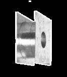 Teleskop-Holzwanddurchführung Teleskop-Holzwand-durchführung Wandstärke 56 - 210 mm
