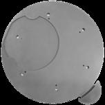 Dreh-Tableau mit Arretierung Ø 460 mm Dreh-Tableau, Ø 460 mm, Gussgrau