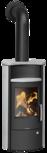 Wood stove Pori 5 Soapstone, corpus steel black