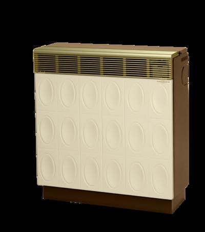 Gasheizautomat 8941-80 Palma Relief (9,3 kW) Beige / Braun Erdgas