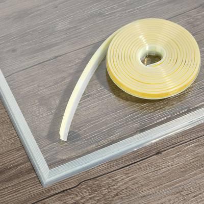 Sealing lip for glass bottom plates Sealing lip for glass bottom plate