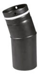 Pellet-Bogen 45° Pellet-Bogen 45° Schwarz emailliert