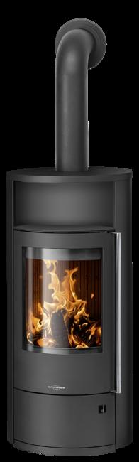 Wood stove Polar Neo 8 Steel black