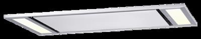 Deckenhaube/Deckenlüfter Modula Modula E (mit Motorguppe und Fernbedienung)